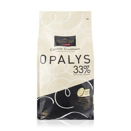 Chocolat Opalys 33% VALRHONA
