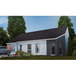 Maison individuelle, 3 chambres + garage à Petite-Forêt