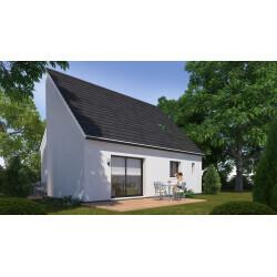 Maison individuelle, 3 chambres + double garage à Hasnon