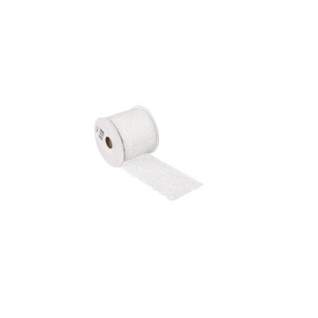 Ruban dentelle coton 7cm/2m