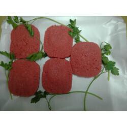 Steacks hachés halal
