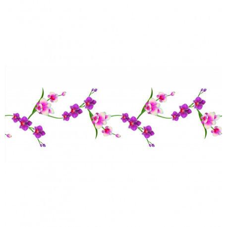 Chemin de table romance orchidées 30cmx5m