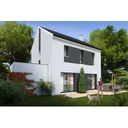Maison individuelle, 3 chambres + garage