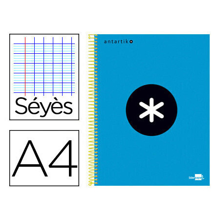 Cahier spirale A4 240 pages seyes LIDERPAPEL