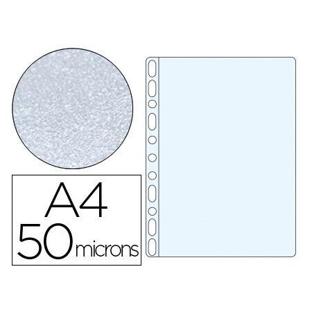 10 Pochettes transparentes A4 perforées Q CONNECT