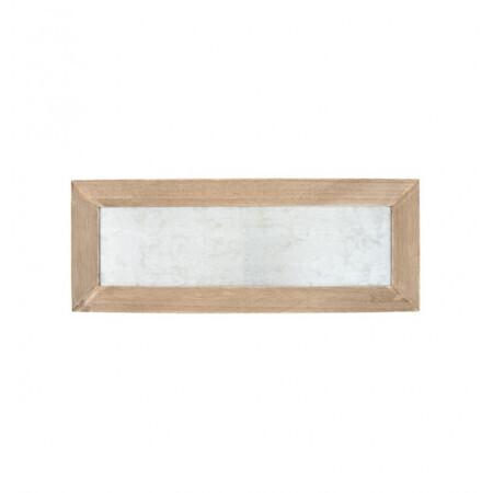 Tableau bois /zinc 40x1.3x15cm
