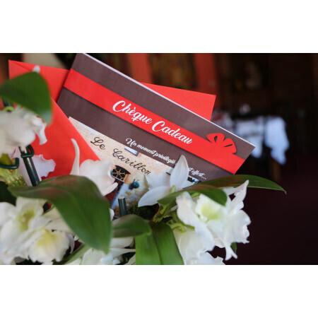 Chèque/Carte Cadeau au Restaurant Le Carillon