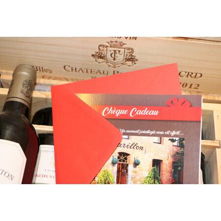 Cheque/Carte Cadeau Le Caveau du Carillon