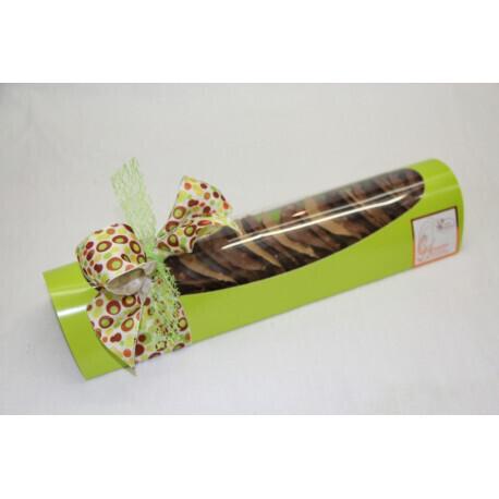 Tunnel de Tuiles chocolat assorties