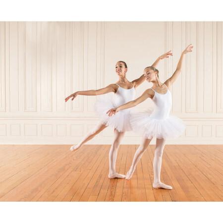 Tutu de danse blanc enfants et adultes