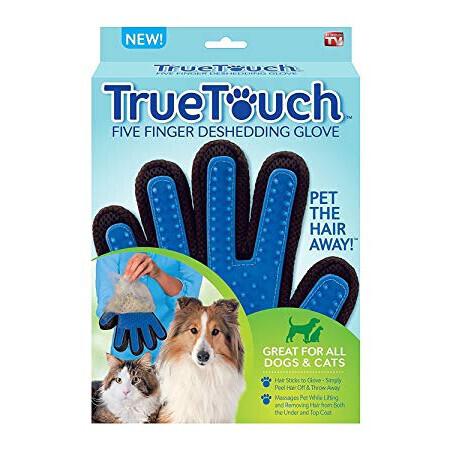 True Touch Gant magique brossage | Toilettage A Tous Poils St Saulve