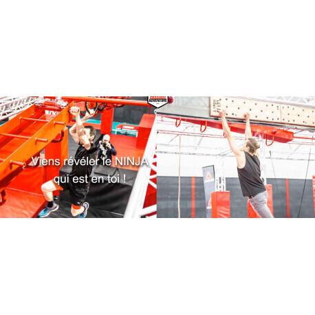 Parcours Warrior Ninja / Adulte