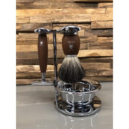 Set de rasage| Blaireau, rasoir, bol | Salon Hair à Valenciennes