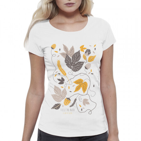 Tee-Shirt Fleur de Bière
