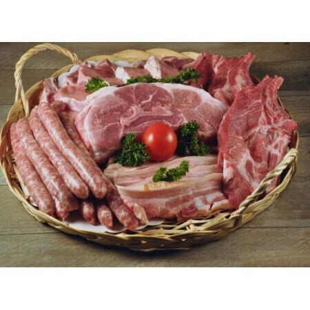 Colis Familial et économique avec Porc, Dinde, Steak hachés