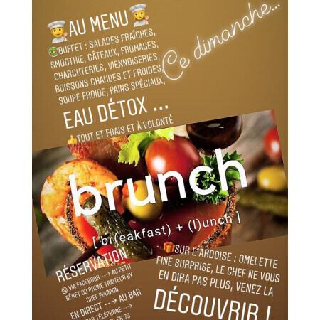 """Le Brunch du dimanche midi - Restaurant """"Au Petit Berét"""""""