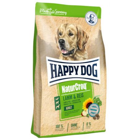Croquettes chiens transit digestif fragile - NATURCROQ RIZ & AGNEAU