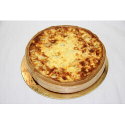 Quiche Saint Jacques 4/5 personnes