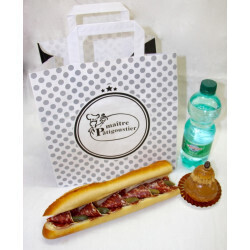 Formule Sandwich tradition Saucisson sec au piment despelette