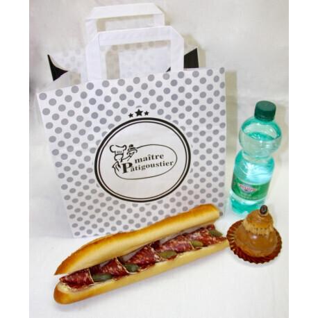 Formule Sandwich tradition Saucisson sec au piment despelette