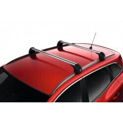 Barres de toit aluminium QuickFix sur barres longitudinales | Garage RIZZO