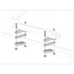 Adaptateur barres de toit pour portage de skis - Réf. 77 11 420 781