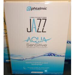 Produit d'entretien lentilles souple Jazz Aqua Sensitive Optique Suin
