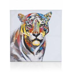 Peinture tigresse