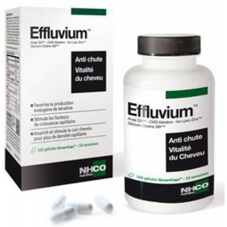 EFFLUVIUM - Anti chute de cheveux - 168 gélules soit 10 semaines de traitement