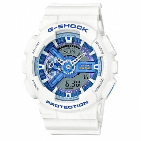 Montre G Shock blanche femme GA-110WB-7AER