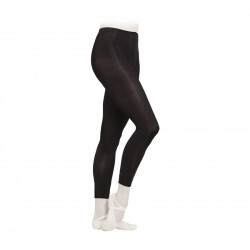 Collants de danse sans pied - noir