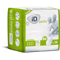 ID EXPERT Pants Super XL protection de nuit pour adulte change complet