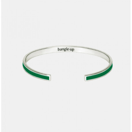 Bracelet Bangle-up vert émeraude