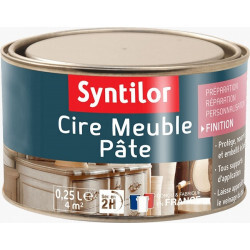 Cire meuble en pâte Syntilor | Morisaux Scierie