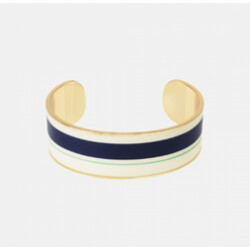 Bracelet Bangle-up zef bleu nuit bleu pool
