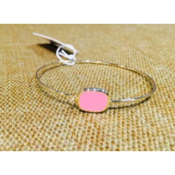Bracelet Bangle-up salomé rose blush