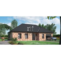 Construction de maison individuelle type Haillicourt