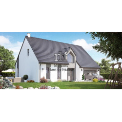 Construction de maison individuelle type Vaudricourt
