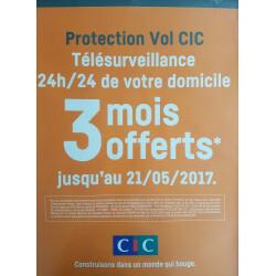 Protection vol CIC