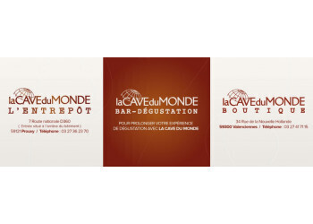 Caviste La Cave Du Monde Boutique Bar Dégustation à VALENCIENNES